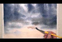 watercolour videos