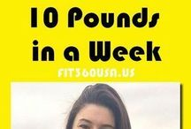 How To lose 10 pounds in a week.