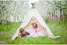 Tee Pees, Tents, and beds OH MY!