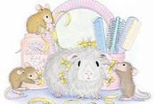 Illustration - House mouse