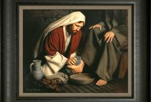 Silent Sermons - 'Service' 'Kindness' 'Humility' / Images that Teach -
