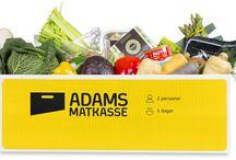 Adams Fri for-kasse / Vi har gleden av å kunne presentere den første matkassen i Norge som er fri for egg, melk og gluten.