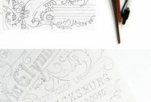 Typography / Fancy pants lettering!