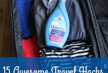 Downy Wrinkle Releaser New at Target / 15 Awesome Travel Hacks All Parents Need To Know #mynewiron