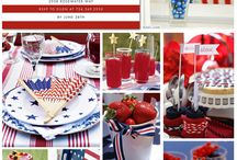 July 4th / Celebrate July 4th, Independence Day, in style!