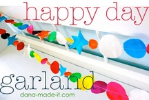 Garland Galore / Is it just me, or are the rest of you addicted to garland, too?