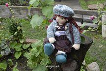 "Waldofr Dolls & more made in ""anya.es hand made"""