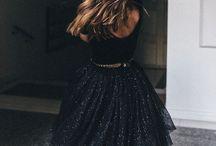 STRADA / Black & Glitter