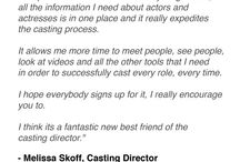 What the Industry Is Saying / What the Industry Is Saying About ShowBizCentral.com