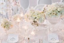 WHITE WEDDINGS / White Wedding Ideas