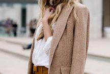 秋の服装 レディース