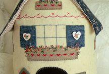 domki z tkanin