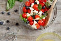 Salads..fruit and Veggies  / by Debbie Johnson