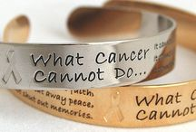 "Cancer Awareness Bracelets for Everyone / From our stunning Swarovski Crystal® Bracelets to our ""What Cancer Cannot Do"" bangles...you'll find a bracelet for everyone on your list! / by Choose Hope"