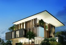 Mimari tasarımlar villa