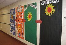 science hallway