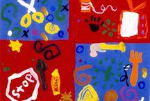 Kids Art ideas / Visual Art/ classroom ideas