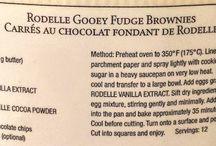 Rondel brownies