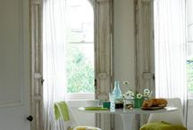 Voiles & Sheers / gosamer fine voile and sheer fabrics help filter the light coming into your room, softening it and keeping out glare, as well as prying eyes...