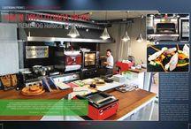 """SHOW KITCHEN - DEMO KUHINJA / """"Show kitchen"""" , kako je Union Drvo imenovalo svoju izložbeno-upotrebnu kuhinju,  je mesto namenjeno svima onima koji žele da vide urađaje, testiraju ih ili probaju ukusna jela,  spremljena na najsavremeniji način."""