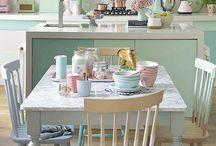 Pastel keuken