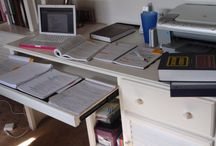 STUDY BOX ✏ / Studies office and study material.