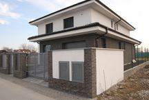 BRUIN GESMOORD bricks / BRUIN GESMOORD with light gray grout