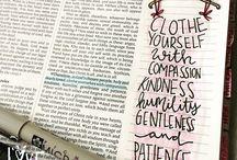 Bible journaling ❤️