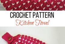 crochet random kitchen items