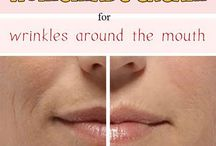 Wrinkles around the mouth
