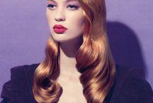 Retro Hair + Makeup