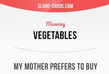SIMPLE SLANG/PHRASAL CARDS