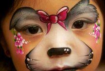 malování obličej
