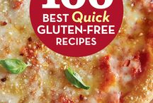 """Carol Fenster's 100 Best Quick Gluten-Free Recipes / 100 Best Quick Gluten-Free Recipes will banish the """"refrigerator stare-down"""" forever.  This is Carol's answer to her many fans who ask, """"How can I get a meal on the table quickly?"""" This book offers safe, delicious and healthy recipes with ingredients and techniques that minimize time spent in the kitchen to get meals on the table in less than 30 minutes."""
