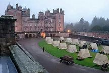 Drumlanrig Castle / Just north of England and Castle Carlisle