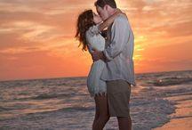 Couple beach photoshoot