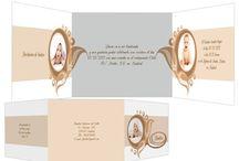 Invitaciones de bautizo / Invitaciones para la celebración del bautizo de tu hijo. Multitud de diseños para el primer gran día de tu bebé.