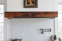 Kitchen vent hoods with style