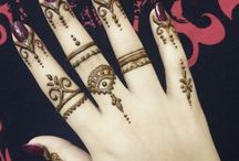Mehendi you can have on your hands: examples