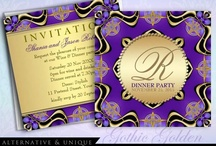 Dinner Party | Event Theme / Customizable Dinner Party Invitations
