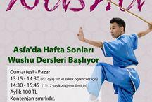 Asfa'da Hafta Sonları Wushu Dersleri Başlıyor!