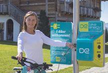 bike-energy | E-Bike Ladestation / E-Bike Ladestationen für Hotels, Almen, Kommunen, ... E-Bikes können einfach, sicher und schnell aufgeladen werden mit dem passenden Ladekabel.