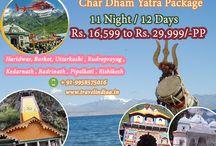 Char dham Yatra tour Packages / Travel india Offers Chardham Yatra tour Packages online at lowest prices in india - Haridwar, Uttarkashi, Kedarnath, Badrinath, Pipalkoti, Rishikesh