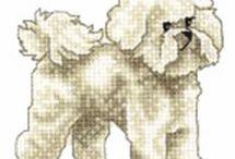 Vyšívání psi