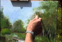 Akril festészet