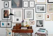 home | gallery wall / by Mae