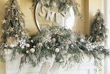 Weihnachtsdekoration Haus