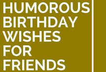 Birthday Wishes, Sympathy messages