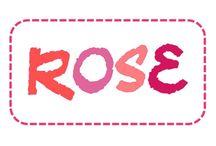 C'est rose / Rose - pink