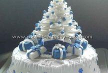 Christmas Treats, Cakes, etc